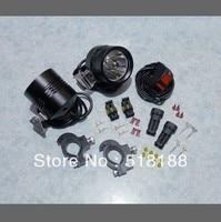 1set Moto LED Work Spot Light 12W 9000 Lumen 1 Cree XML T6 4T6 LED Motorcycle