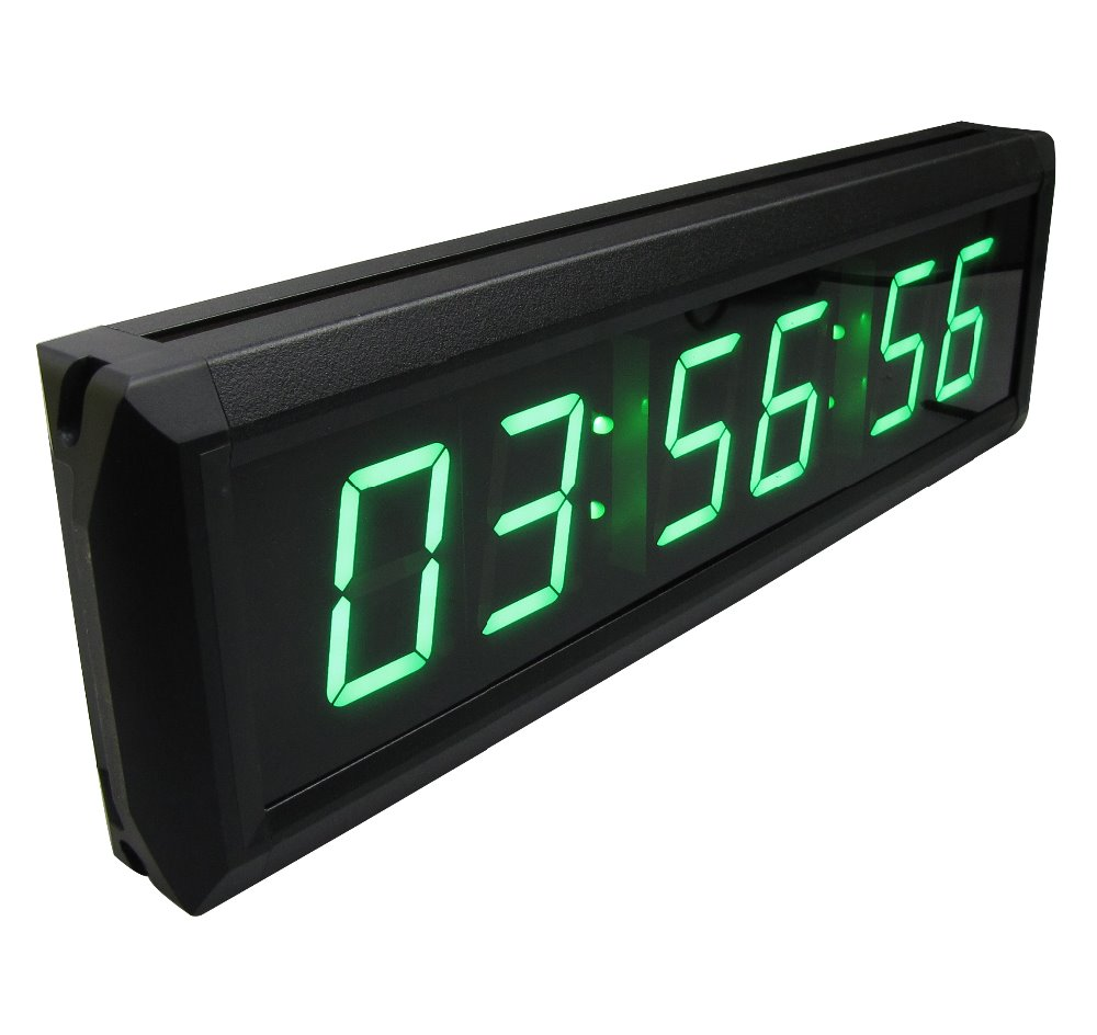 GANXIN Display Large Wall Clock LED Countdown Clock Countdown Count Up in Hours Minutes Seconds