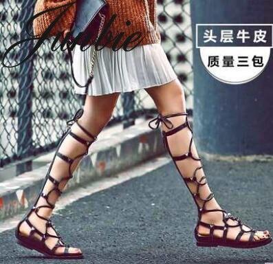 Sandales Femmes Zip Haut Bout As Genou Retour Pic Clouté Junbie Pic Chaussures Rome Nouvelle À Ouvert Gladiateur as D'été Lacets xwn1fqB0Z
