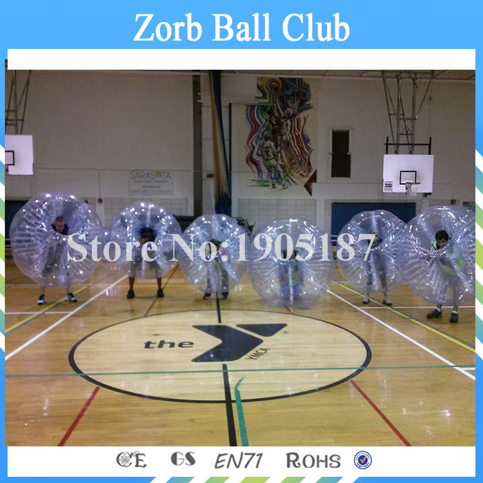 Free Shipping 1.5m Dia TPU 10 PCS(5Red+5Blue+2 pumps )Factory Price Body Bubble Bumper Ball,Bubble Ball Soccer,Soccer Bubbles