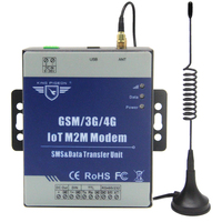 IOT M2M Modem GSM/3G/4G DTU Supports Programmable Handshake Message Transparent Transferring SMS with TTL RS485 Port D223