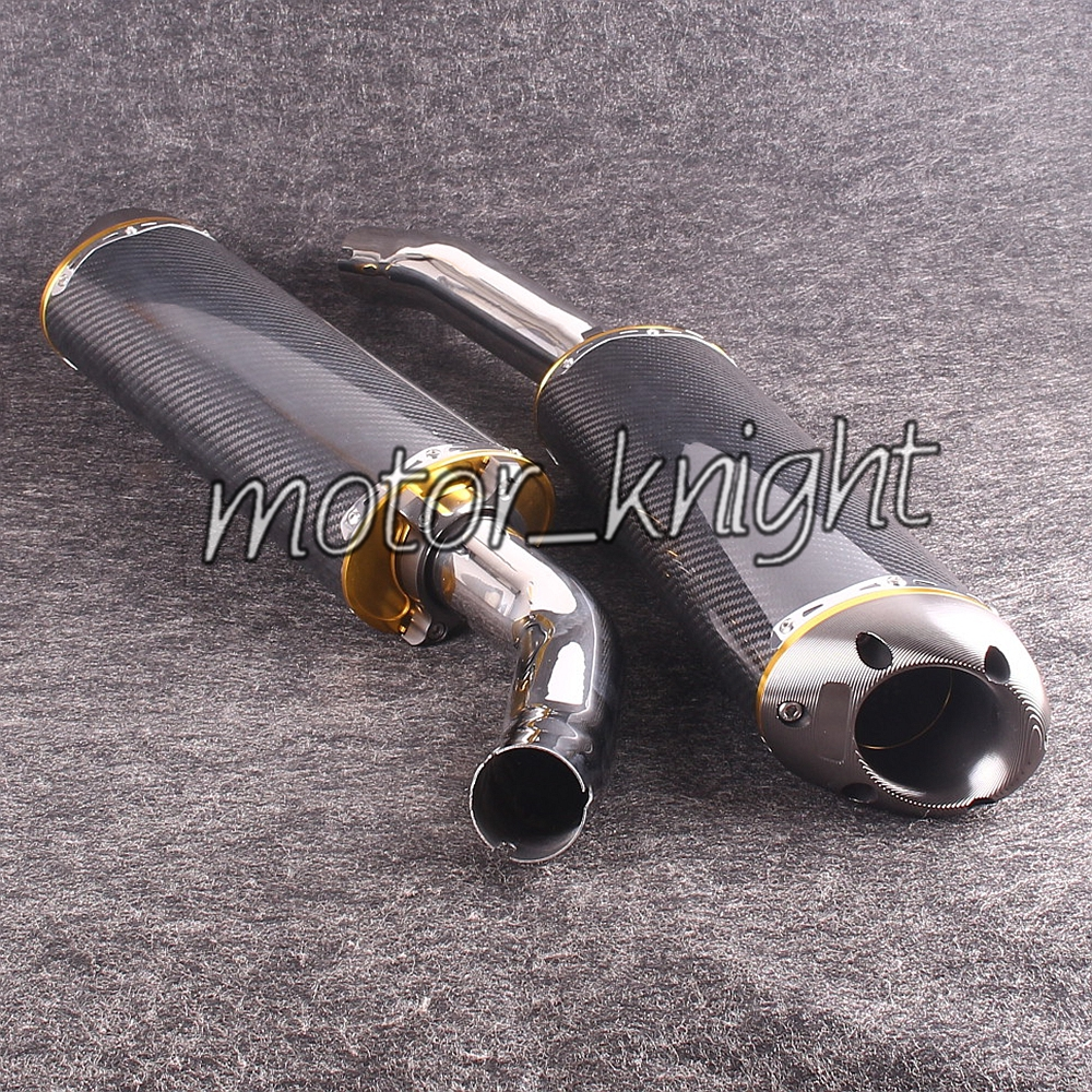 Carbon Fiber Exhaust Muffler Silencer For Yamaha 20042006 Yzf R1: 2006 R1 Exhaust Systems At Woreks.co