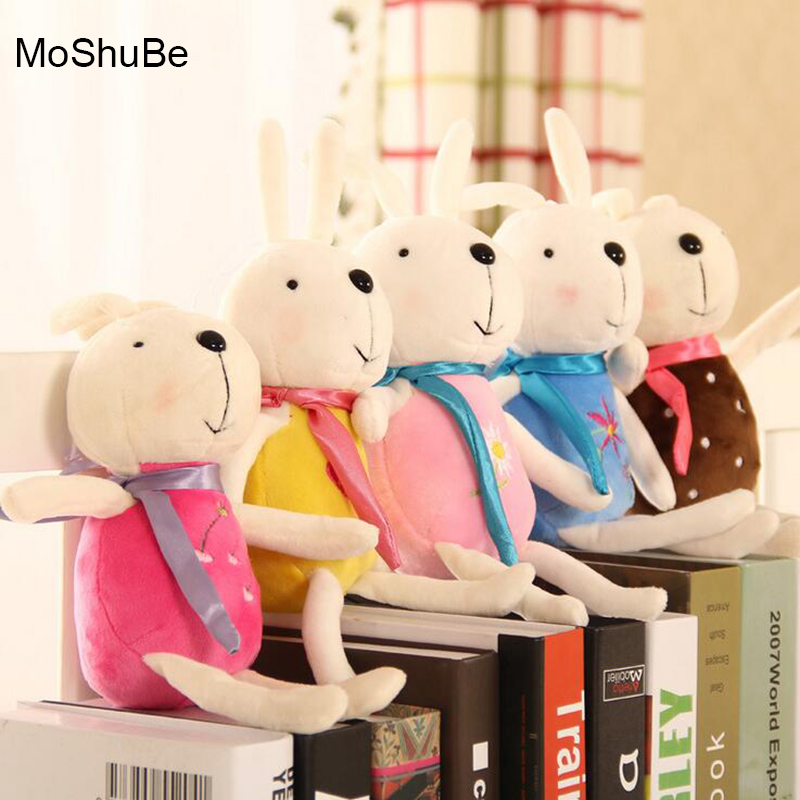 4 Sizes Optional Childrens Plush Toys Cute Stuffed Rabbits Soft PP Cotton Kids Dolls For Baby Pillows Wedding Decor Child Gifts
