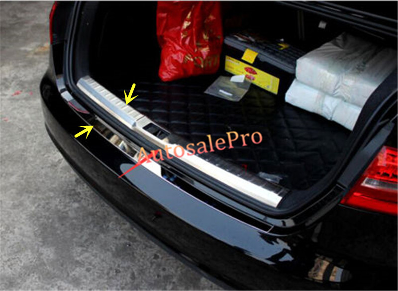 Rear Bumper Protector Sill plate Trim for 2008-2015 Land Rover Freelander 2