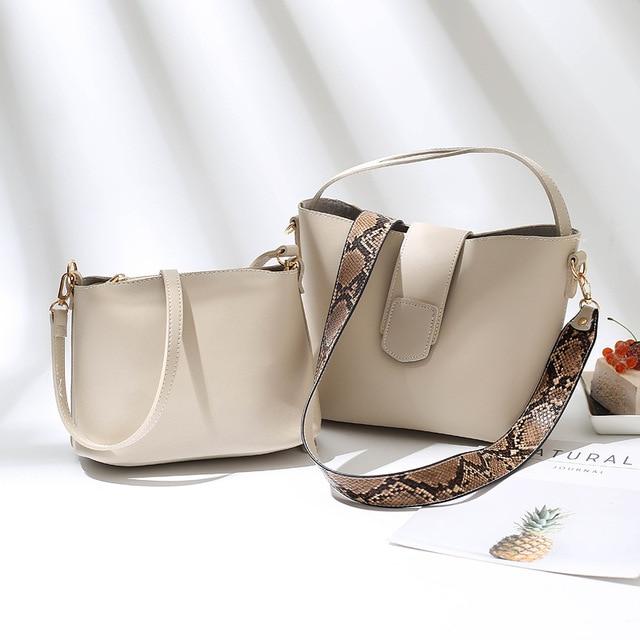 Er Women Handbags Leather...