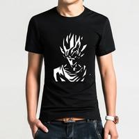 Japanese Anime Goku Dragon Ball T Shirts T Shirts Summer Men Cotton Short Sleeve Tshirts Tops