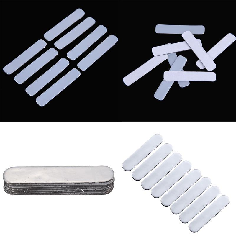 8pcs Lead Tapes Add Swing Weight 5.1x1cm Golf Club Racket Iron Putter
