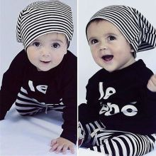 2pcs Baby Boy Kids Long Sleeve T-shirt Tops +Pants Outfit Clothing Set Suits