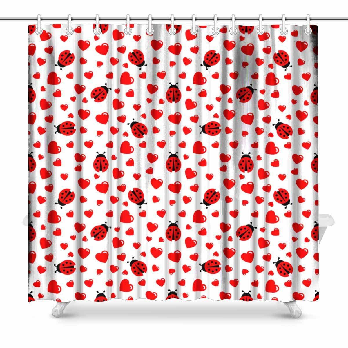 Curtain Makers Brisbane Ladybug Shower Curtain Set Curtain Menzilperde Net