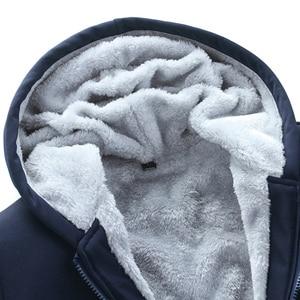 Image 4 - Bolubao novo inverno conjunto de treino dos homens engrossar hoodies + calças terno primavera moletom conjunto de roupas esportivas masculino com capuz ternos esportivos