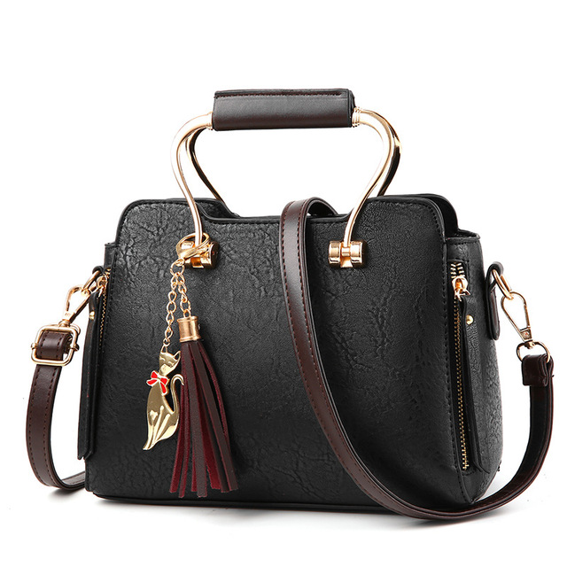 8b9c582751 Vintage Luxury Leather Handbags Women Bags Designer 2018 Women Crossbody Bag  Ladies Famous Brand Shoulder Bag