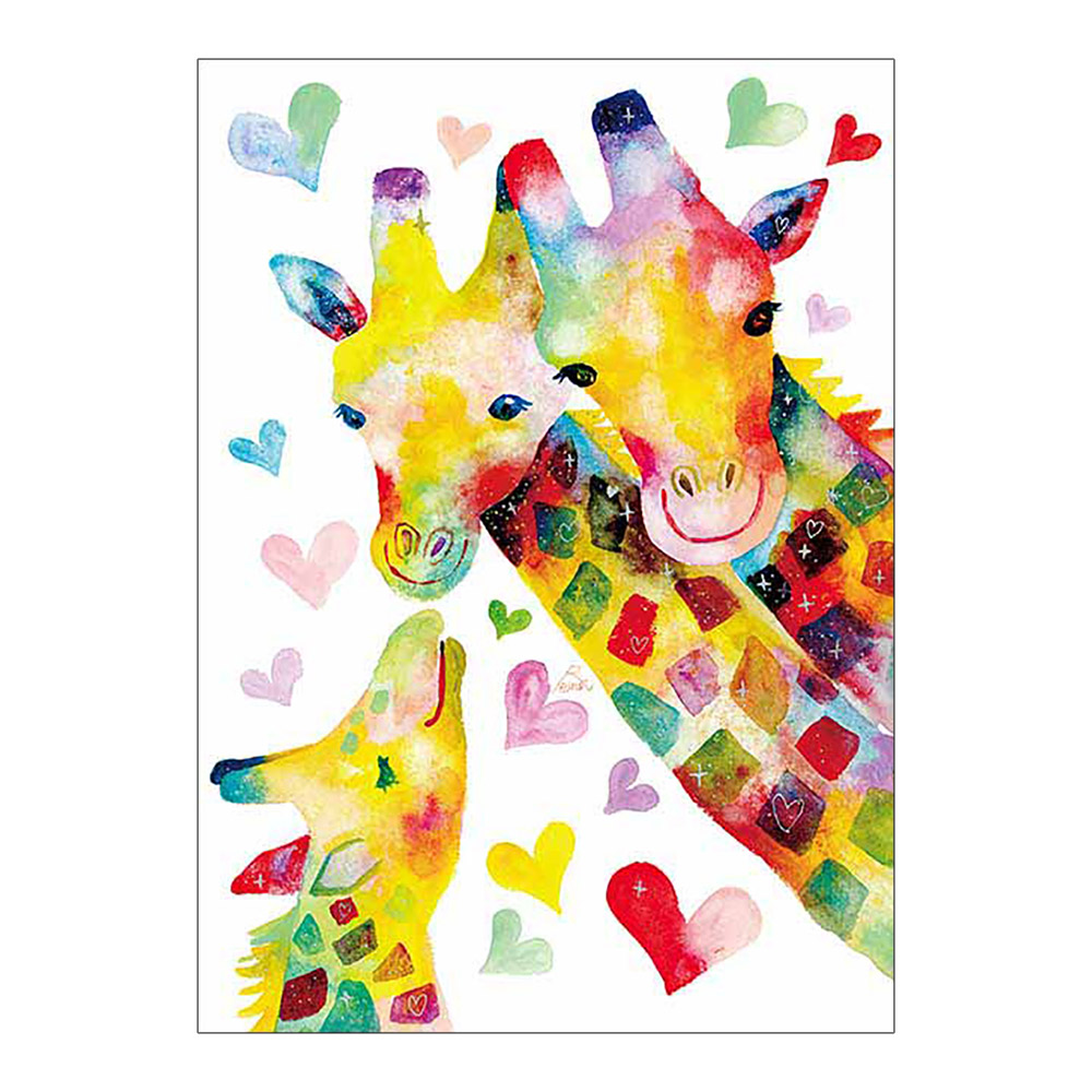 cartoon animal giraffe Diamond Painting Full Round children simple New DIY Sticking Drill Cross Embroidery 5D Oil painting style in Diamond Painting Cross Stitch from Home Garden