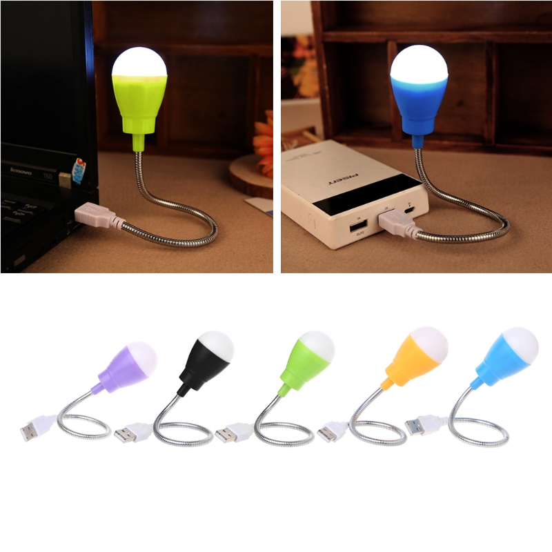 Portable font b USB b font Light Mini 360 Degree Flexible Night Lamp font b USB