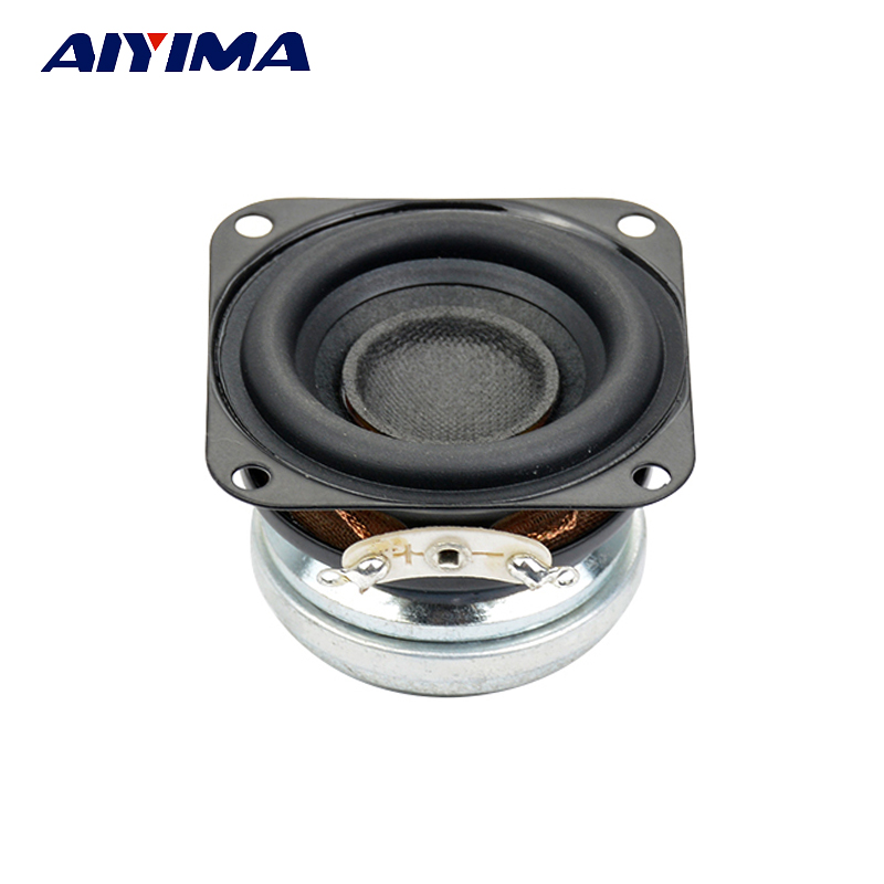 AIYIMA 1pcs 1.5 inch full range 4ohm 10W 40mm Fever Bluetooth wifi speaker strong neodymium loudspeaker h 019 fountek fr88ex full range 3 inch hifi speaker amplifier speaker hot sale 84 3db 1w 1m