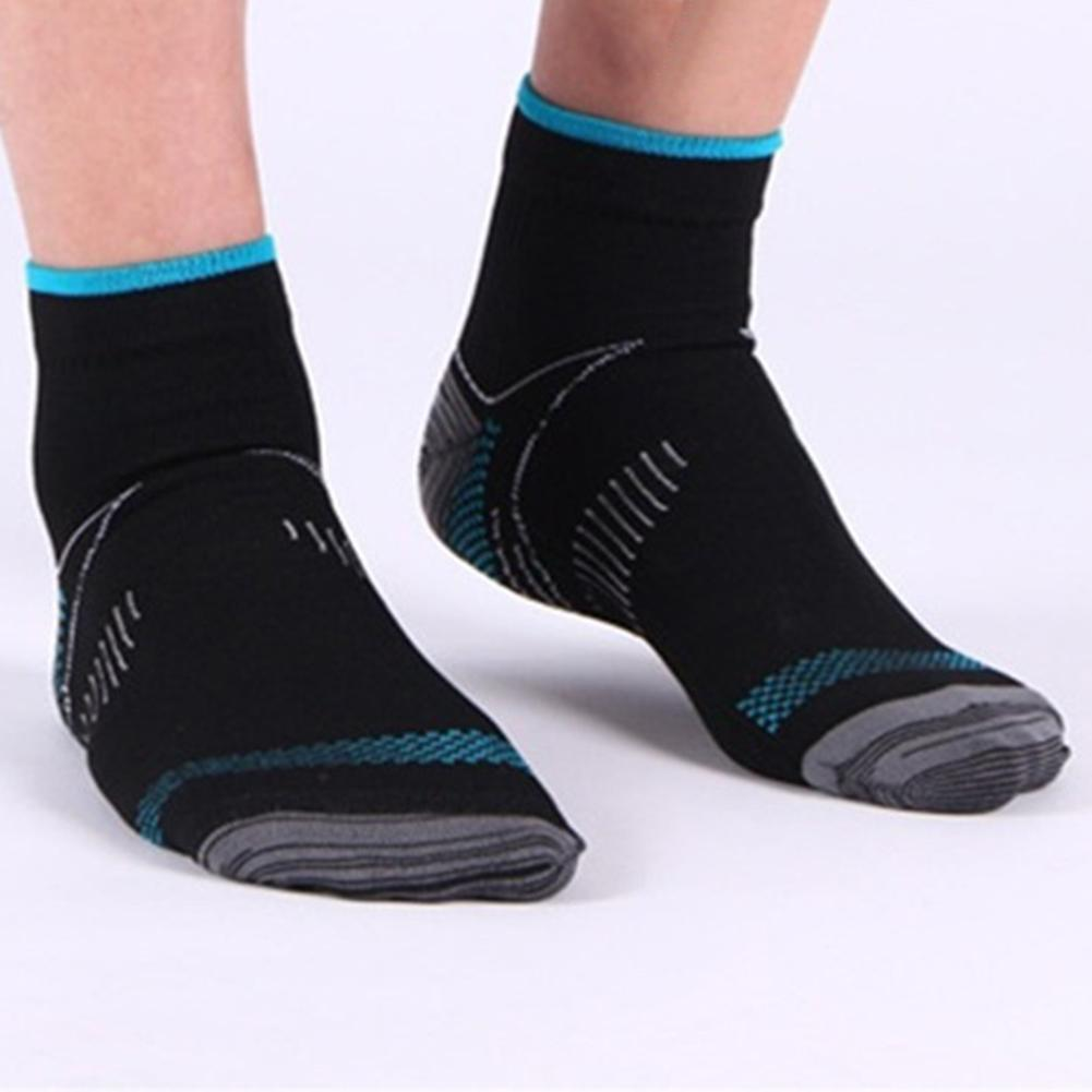 1 Pair Men Calcetines Unisex Veins Socks Compression for Plantar Fasciitis Heel Spurs Arch Pain Casual Breathable Soxs meias ...