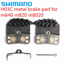 SHIMANO H03A H03C Disc Brake Pads for Saint Zee BR M820 M640 M8020 Resin Metal FIN Pad Set цена
