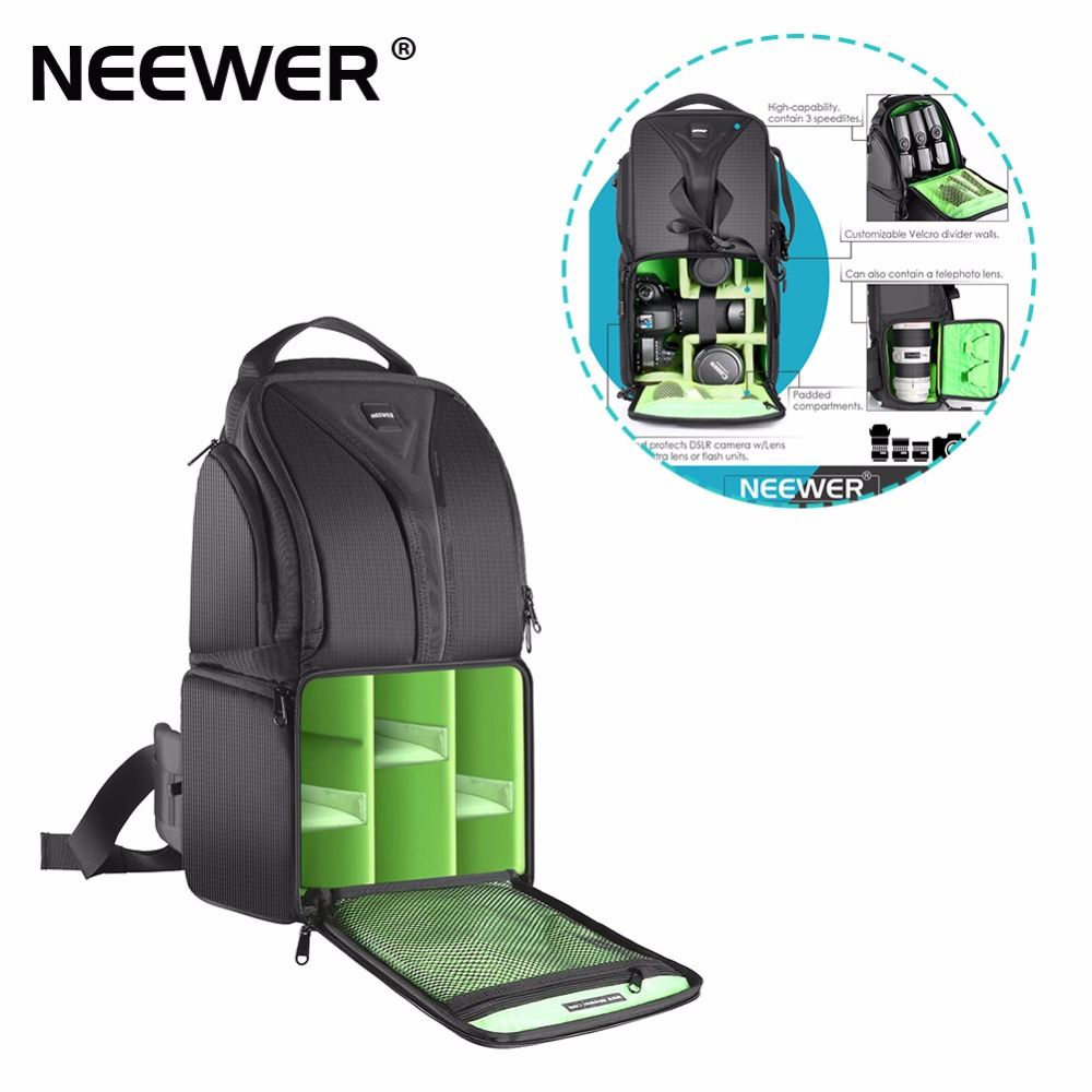 Neewer Camera Sling Backpack Case Bag 9 8x7 9x16 9 Inch 25x20x43 cm Durable for Canon