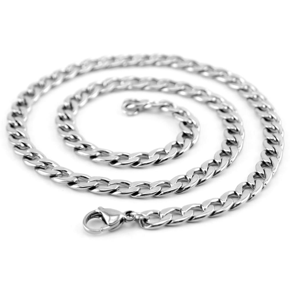 Risul männer Halskette Miami Kubanischen Curb Ketten 7,4mm breite ...