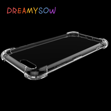 Купить с кэшбэком Anti-knock Clear TPU Case For Xiaomi Mi 5X Note 2 3 For Redmi 5A 3 3S 4A 4X Pro Prime 3 4X 64GB Mobile Phone Cover
