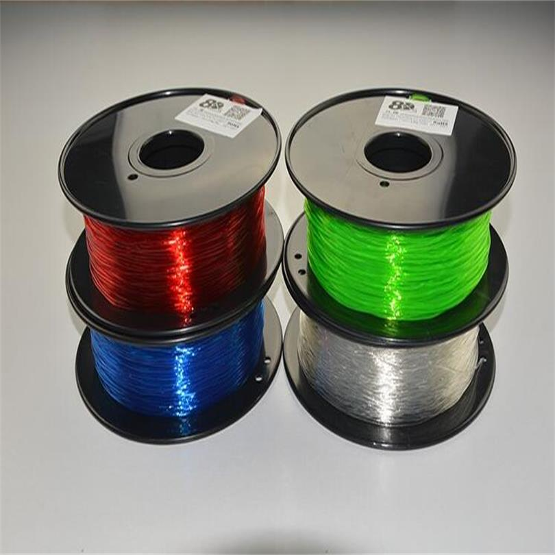 1.75mm 1KG-0.1KG TPU 3d printing filament Flexible Rubber Plastic wire Soft Material for 3d printer
