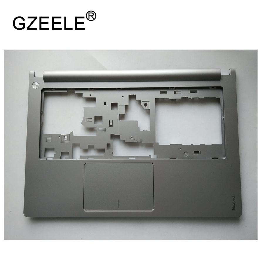GZEELE NEW C shell top case For Lenovo Ideapad M30-70 Palmrest cover Without Touchpad S300 S310 silver upper case gzeele new for lenovo thinkpad s1 yoga keyboard bezel palmrest cover with touchpad and connecting cable 00hm067 00hm068 black c