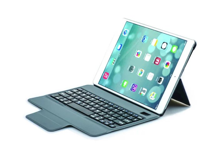 For Apple iPad Pro 9.7 inch Wireless Bluetooth Keyboard Case Fold Super Slim PU Leather Smart Case Cover with Kickstand ultra thin slim wireless bluetooth 3 0 keyboard dock case fold stand pu leather smart cover for apple ipad pro 10 5 10 5 tablet