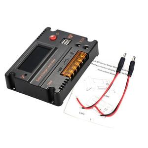 Image 3 - Контроллер заряда солнечной батареи 20 А, регулятор батареи солнечной панели, автоматический переключатель, контроллер солнечной энергии, температурная компенсация 12 В/24 В