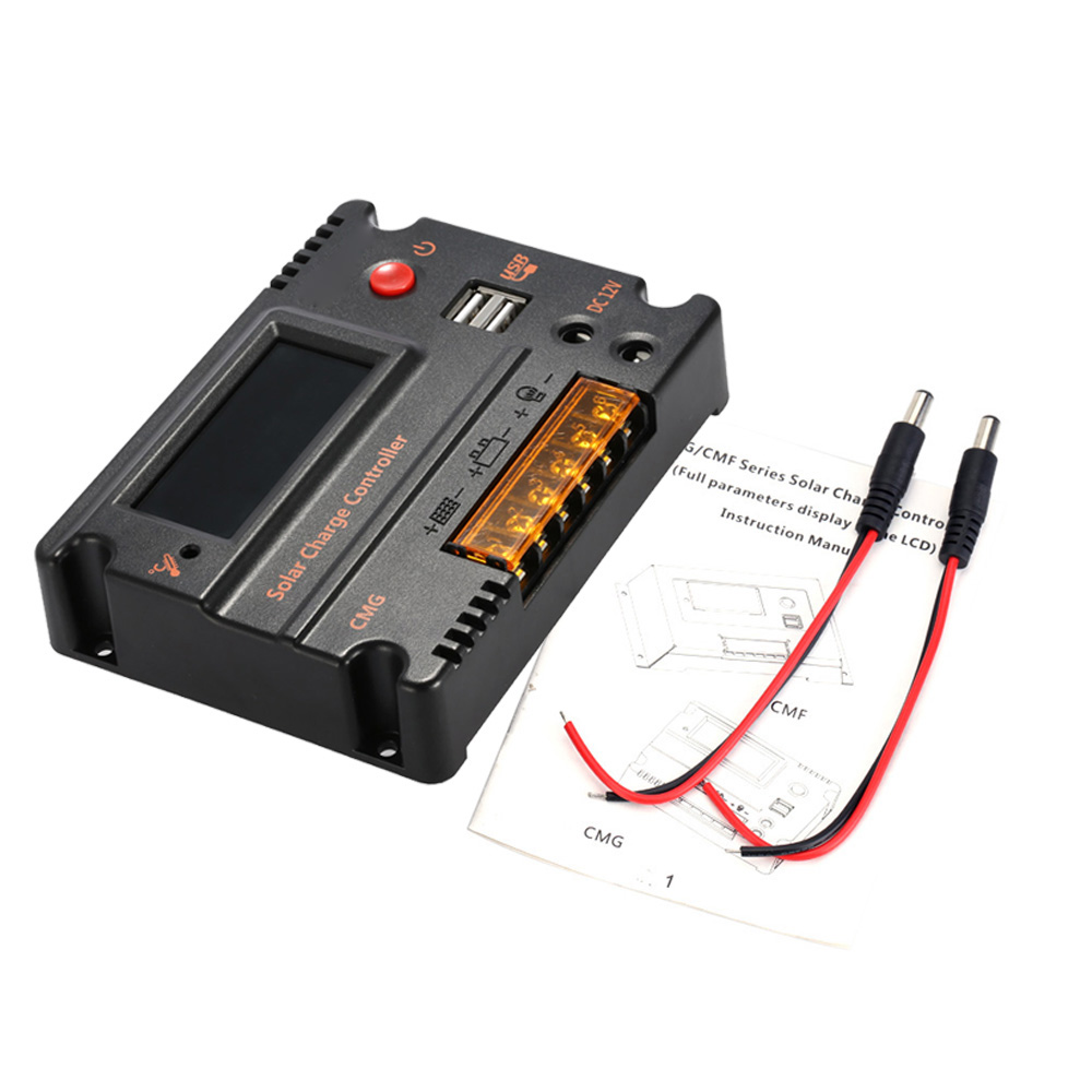 12V/24V Automatic Solar Charge Controller with PWM Charging Mode and Over-Charging Protection 2