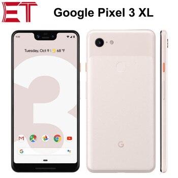 Перейти на Алиэкспресс и купить Google Pixel 3 XL 4G LTE мобильный телефон 6,3 дюйма полноэкранный 1440x2960p 4 Гб RAM 64 Гб/128 ГБ ROM OctaCore Snapdragon845 NFC Android9.0