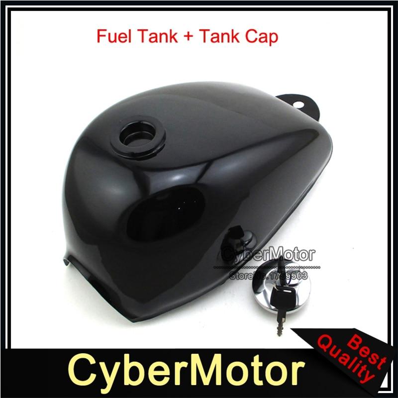 Black Gas Fuel Tank Cap Cover With Keys For Honda Mini Trail Monkey Motor Bike Z50 Z50A Z50J Z50R Motorcycle цена
