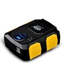 Цифровой Дисплей Автоматический Выключатель Воздушный Компрессор Автомобиля Цифровой Пистолет Шин Цифровой Надувной Воздушный Насос Насос 12 В