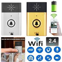 2.4G Wireless Voice Intercom Doorbell Two Way Talk Home Security System