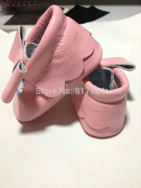 genuine leather fashion new lace flower baby moccasins with bow soft sole prewalker toddlers/infants baby shoes