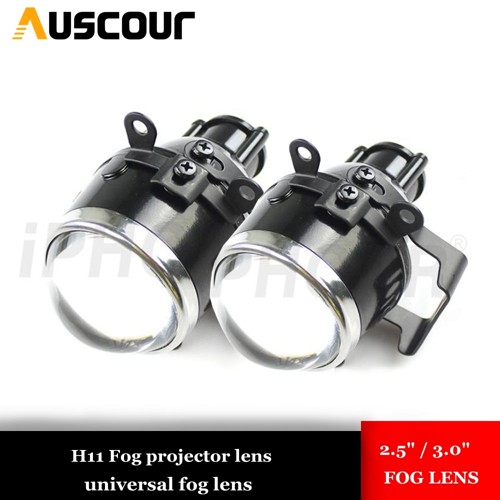 Car Fog Bi Xenon projector Lens H11 Projector for Ford Mazada Mitsubishi Pajero Subaru Citroen Dacia
