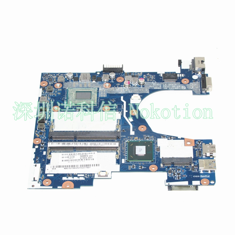 NOKOTION NBV7Q11004 NB.V7Q11.004  Q1VZC LA-8941P For acer aspire V5-131 Laptop motherboard SR0N9 I3-3217U works