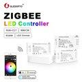 GLEDOPTO ZIGBEE Led Controller RGB + CCT WW/CW zigbee controller LED DC12-24V LED streifen controller zll app controller RGBW rgb 3,0