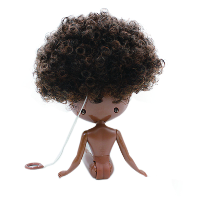 Factory Neo Blythe Doll Black Skin Regular Body 30cm