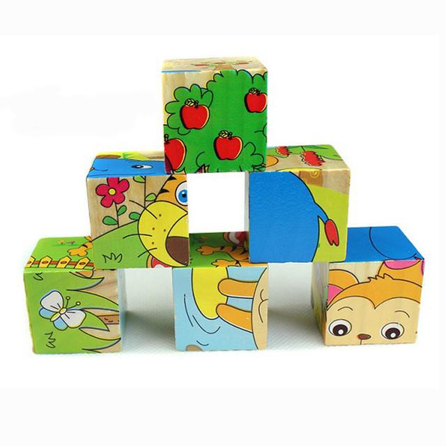 Kids Wooden Blocks