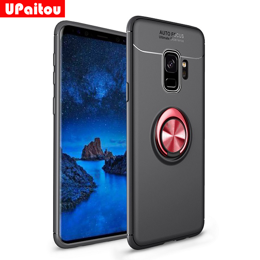 Upaitou Ring Case For Samsung Galaxy S9 S8 Plus S7 Edge