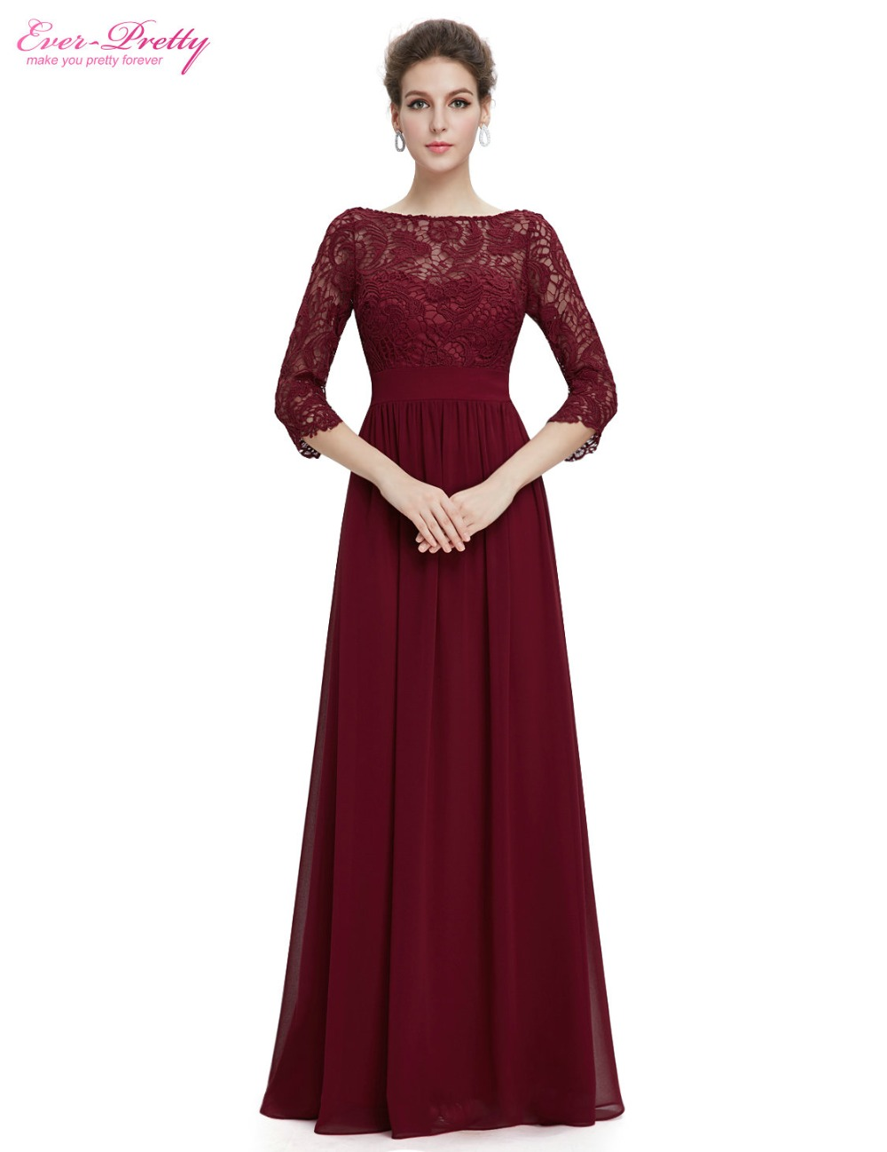 Formal Evening Dresses Ever Pretty EP08692 Women\'s Elegant V neck ...