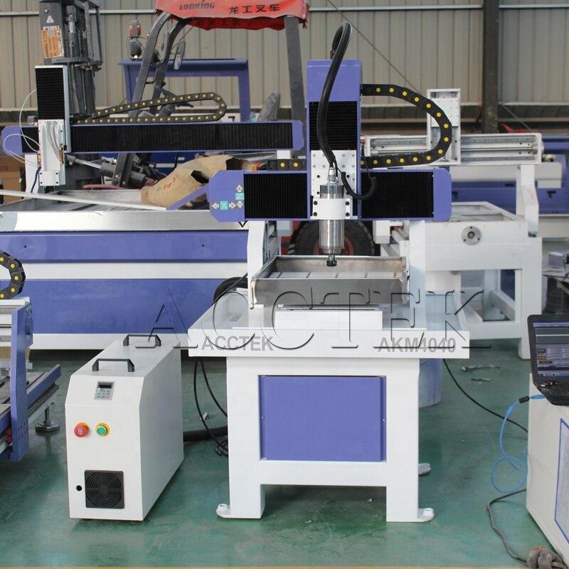 Mini CNC 4040 6060 métal chaussure moule haute vitesse CNC fraiseuse, CNC modèle faisant la machine avec CE