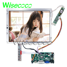 цена на tft lcd screen panel LQ121S1DG31 12.1inch 800x600 with hdmi dvi vga keypad controller board  For Industrial