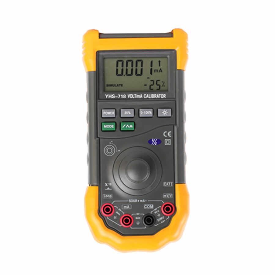 0 إلى 100mv الناتج مصدر 0 إلى 20ma أو 4 إلى 20ma الحالية فولت/أمبير الحالي YHS718