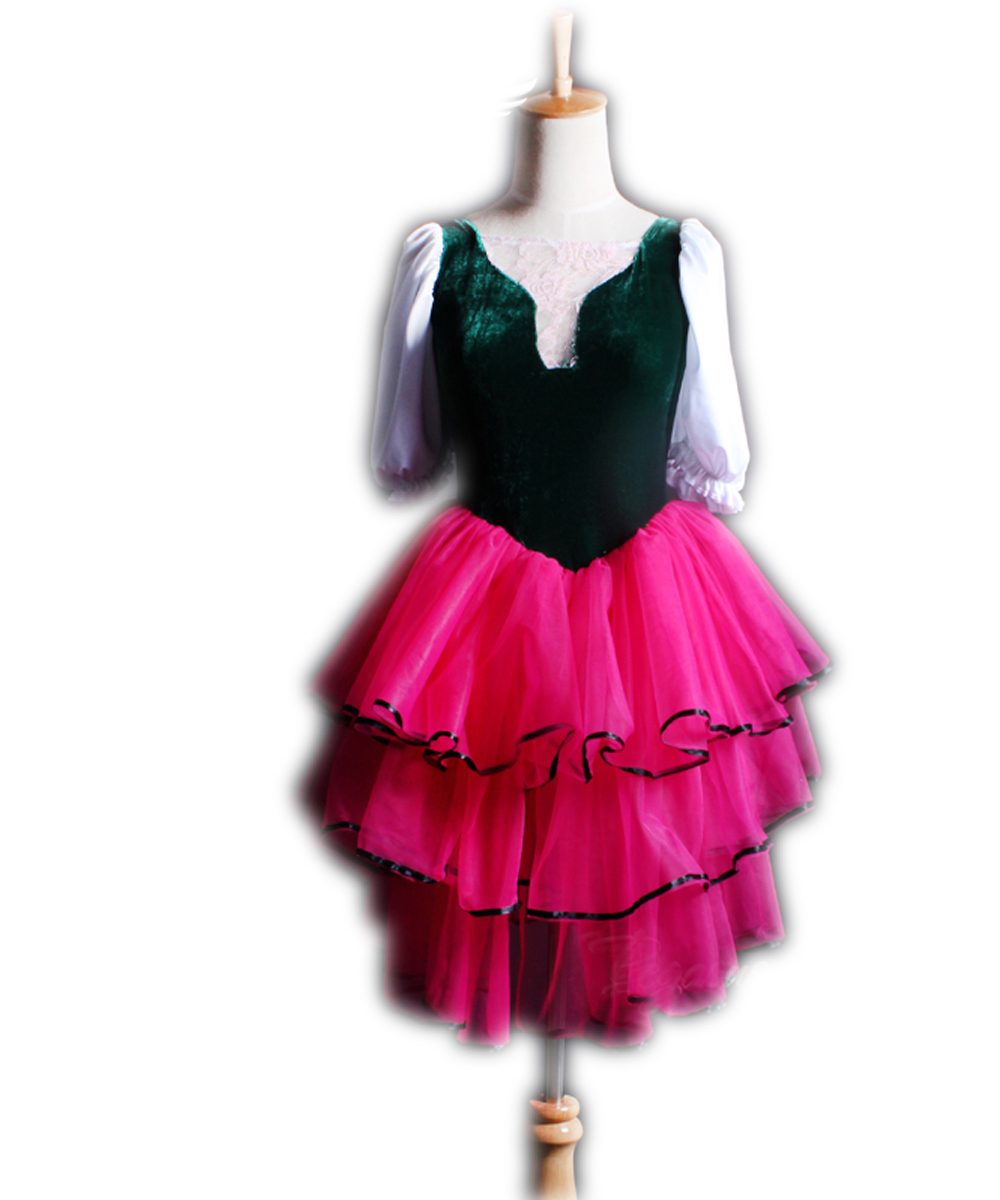 Aliexpress.com : Buy Pink Romantic Ballet Tutu Dress Kids ...