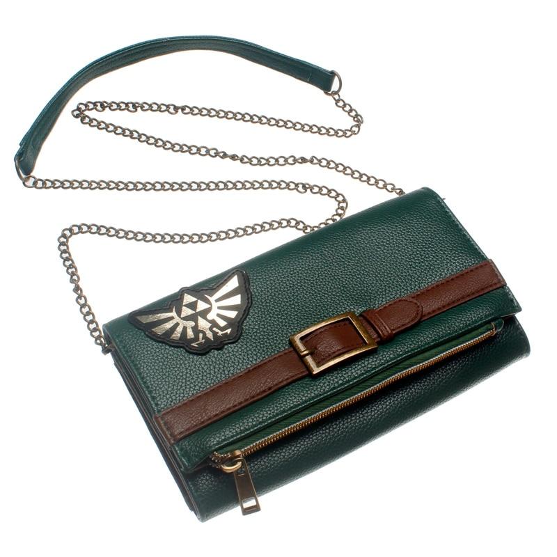 Legend of Zelda  Wallet  Women Purse Folding handbag DFT-5521