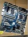 Оригинал z820 рабочая станция материнская плата для 619562-001 618266-001 чипсет X79 LGA 2011 работать идеально