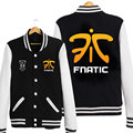 Fnatic Team Autumn Winter Warm Hoodie 2016 Hot Game LOL CSGO FNC Sweatshirt Unisex Shirt Cosplay Hoodies off White for men women