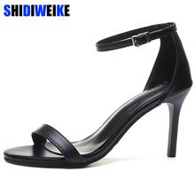 US $12.59 45% OFF|2019 Ankle Strap Heels Women Sandals Summer Shoes Women Open Toe Thin Heels High Heels Party Dress Sandals g326-in High Heels from Shoes on Aliexpress.com | Alibaba Group