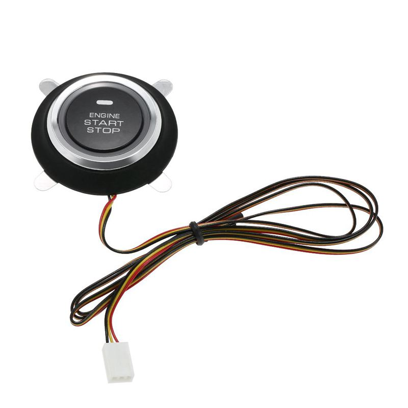 Bouton d'arrêt universel de démarrage à distance du moteur d'alarme de voiture automatique ouvrir fermer la Version windows clé intelligente PKE système d'entrée sans clé passif - 4