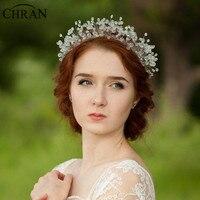 Beautiful Luxury 100 Handmade Crystal Tiara Crown Bridal Wedding Headband Headpiece Evening Hair Comb Jewelry HCJ609
